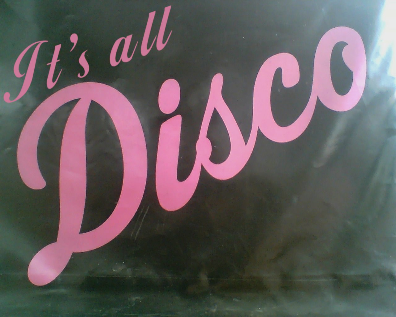 It's all Disco!